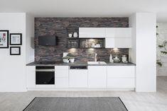 Kuchyňa ESTER vo vyhotovení biela arctic vysoký lesk