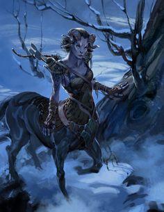 Lady centaur creature. http://mauk.nu/evolutionairleiderschapde-centaur