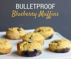 Bulletproof Blueberry Muffins (Paleo, Low Carb, Sugar Free, Gluten Free) - Our Toasty Life