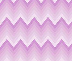 LavanderOmbreChevron2 fabric by mgterry on Spoonflower - custom fabric