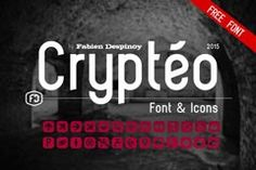 Free font of the day: Crypteo