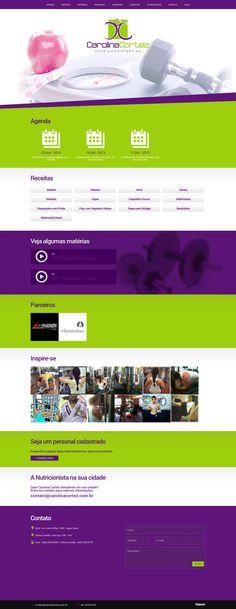 Cliente de Fabinho Designer - Drª Carolina Cortez (http://www.carolinacortez.com.br)