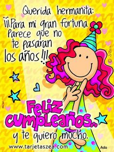 Happy Birthday Wishes In Spanish Images - Ideas For Wishes And . Birthdays happy birthday in spanish Spanish Birthday Wishes, Happy Birthday Celebration, Happy Birthday Sister, Happy Birthday Quotes, Birthday Messages, Happy Birthday Cards, Birthday Greetings, Happy Birthdays, Birthday Candy
