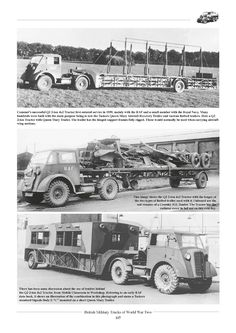 British Military Trucks of World War 2 - Unfortunately the subject of British trucks in World War Two is one that ha. Dundee City, Old Lorries, Road Transport, Heavy Duty Trucks, Army Vehicles, British Army, Classic Trucks, Old Trucks, Military History