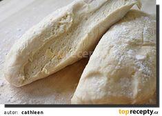Loudavé těsto (sladké i slané) recept - TopRecepty.cz Bread, Baking, Recipes, Food, Pizza, Hampers, Bread Making, Meal, Patisserie