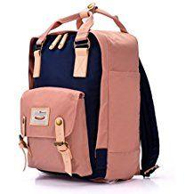 0dd88466c0a39 Nylon Rucksack Damen Teenager Große Schultasche Schulrucksack Mädchen  College Laptop Bagpack für Outdoor Camping Picknick Sport  Amazon.de   Koffer