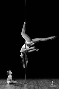 Pole Picture of the Day: @Danielle Lampert Lampert Bale photography by Justin Tran Photography