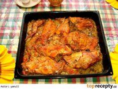 Králík  či kuře proti skleróze :-)) Czech Recipes, Ethnic Recipes, Tandoori Chicken, Poultry, Low Carb, Treats, Cooking, Health, Czech Food