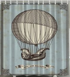 Pinterest 13 Shower Curtain Ideas Images. Pixel Bts Young Forever Hot Air  Balloon Shower Curtain