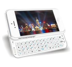 """Ultra-thin Slide-out Bluetooth Wireless Keyboard Case Cover For iPhone 6 6S 4.7"""""""