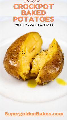 Best Baked Potato, Perfect Baked Potato, Baked Potatoes, Potato Dishes, Potato Recipes, Vegetable Recipes, Potato Rice, Vegetable Sides, Side Dishes Easy