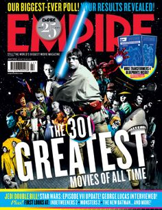 Empire Magazine's 301 Greatest #Movies of All Time (As Voted by You!)