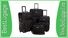 Rockland Luggage Skate Wheels 4 Piece Luggage Set Review Cheap Luggage Sets, Luggage Sale, Cute Luggage, Best Carry On Luggage, Cabin Luggage, Metal Detector Reviews, Buy Things Online, Light Luggage, Rockland Luggage