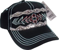 Cruel Girl Sequin Ball Cap Silver Sequin, Black Sequins, Cruel Girl, Geometric Embroidery, Cool Things To Buy, Stuff To Buy, Caps Hats, Baseball Hats, Logo