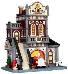 Lemax Fire House No