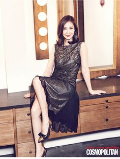 2014.04, Cosmopolitan, Chae Si Ra