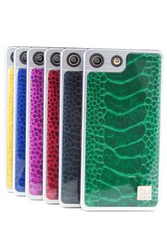 #carcasa #resina #avestruz #amarilla #verde #azul #rojo #morada #petroleo  #color #Sony #Xperia #M5 #calidad  #diseño #moda #proteccion #smartphone
