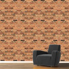 Self Adhesive Brick Wallpaper Decal c13  PANEL SIZES (Tall x Wide in inches – each sheet includes 1 panel) 20x20 sample panel 60x20 panel 96x20 panel 120x20 panel  Order more quantities to cover the entire wall!  Not sure if this is the right wallpaper for you? Make sure to buy a sample first to test it out and get a feel for your new transformed room!  PRODUCT DETAILS: Spice up any room with this vibrant product from Prime Decals! REMOVABLE and very user friendly, in addition to flat walls…