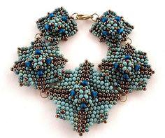 Blue square bracelet Ellad2 | by ellad2