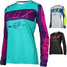 Fox Racing MX 180 Womens Off Road Dirt Bike Racing Motocross Jerseys