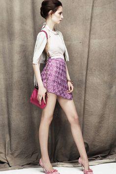Nina Ricci Resort 2012 Fashion Show - Suzie Bird