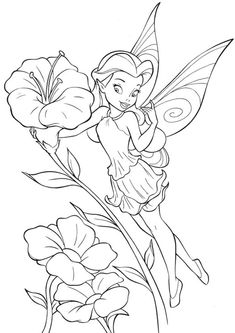 fairies and pixies coloring pages - photo#17