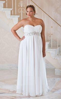 Valentines Day Plus Size Wedding Dresses