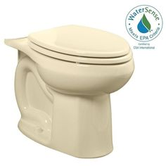 American Standard Colony Universal 1.28 GPF or 1.6 GPF Right Height Elongated Toilet Bowl Only in