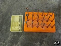 cup burs for rounding the ends of wire. Find at Rio Grande