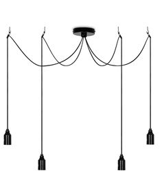 Apartment Blue Iron Chandelier Ceiling Fixtures For Teens Bedroom Kids Lighting Showcase Playroom Lampe Shade Mini E27 Lustres Good Companions For Children As Well As Adults Lights & Lighting