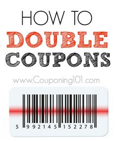 Doubling and tripling coupons is one of the most confusing aspects of couponing for beginners. So, I am going to explain exactly what it means! Double or triple
