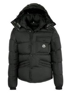 Hot sale Official Moncler Montclar Men Jacket Black with lowest discount is very popular