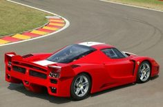 The Most Expensive Cars in the World: Ferrari FXX: 1.5 million euros