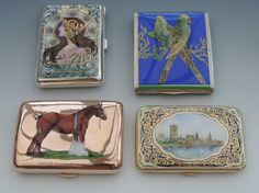 Stunning Enamelled Cigarette Cases | New Arrivals | Steppes Hill Farm Antiques | http://www.steppeshillfarmantiques.com/blog/stunning-new-silver-enamelled-collectables-available-at-steppes-hill-farm-antiques-2333