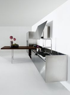 SLIM designed for @Elma Riedstra cucine cucine | #Palomba #design #steel