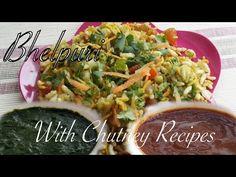 Bhelpuri - Dosatopizza Chutney Recipes, Tangier, Spicy, Snacks, Ethnic Recipes, Food, Appetizers, Essen, Yemek