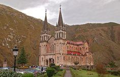 Covadonga's Church (Asturias, Spain)