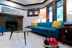 The Ellen Dream House Family Room Possible Kid Friendly Living Room Living Room Pinterest