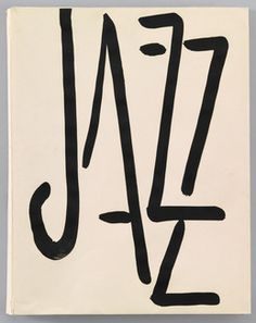Henri Matisse • Jazz, book cover. 1947