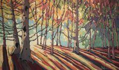 """Light Through the Cedars"" by Jennifer Woodburn"