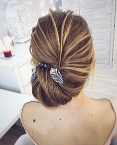 Ещё один вариант вечерней причёски.. #tonyastylist #hairupdo #eveninglook #hairdo #hairstyle #noextensions