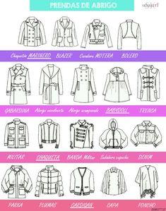 Diseño de moda / Cortes de chaqueta y #abrigos                                                                                                                                                      Más