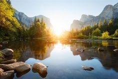 20 Maravillosos Atardeceres Parque Nacional Yosemite, California, Estados Unidos