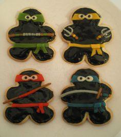 MY Original ninjabread cookies!