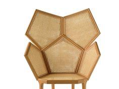 Petit fauteuil avec dossier haut LUI 5/A - Fratelli Boffi Boffi, Table Lamp, Design, Furniture, Home Decor, Lamp Table, Table Lamps, Home Furnishings, Interior Design