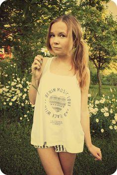 My new fav shirt for summer