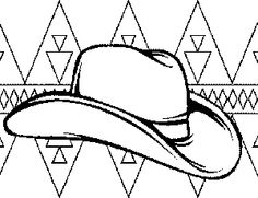 Cowboy coloring pages for kids | Printables | Pinterest | Cowboys ...