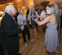 Dancing with the grandchildren at 88 years young during a beautiful wedding at Pelican Hill | www.pelicanhill.com |The Resort at Pelican Hill, Newport Beach, CA | #pelicanhillresort #memories