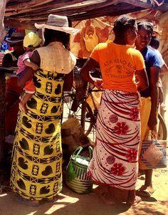 Local Antandroy Tribe market . Madagascar