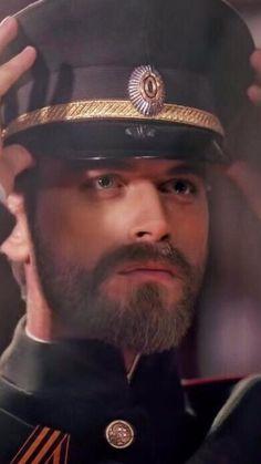 Kivanc Tatlitug as Kurt Seyit Eminof in the Turkish TV series, now on Netflix, KURT SEYIT VE SURA, 2014-2015.